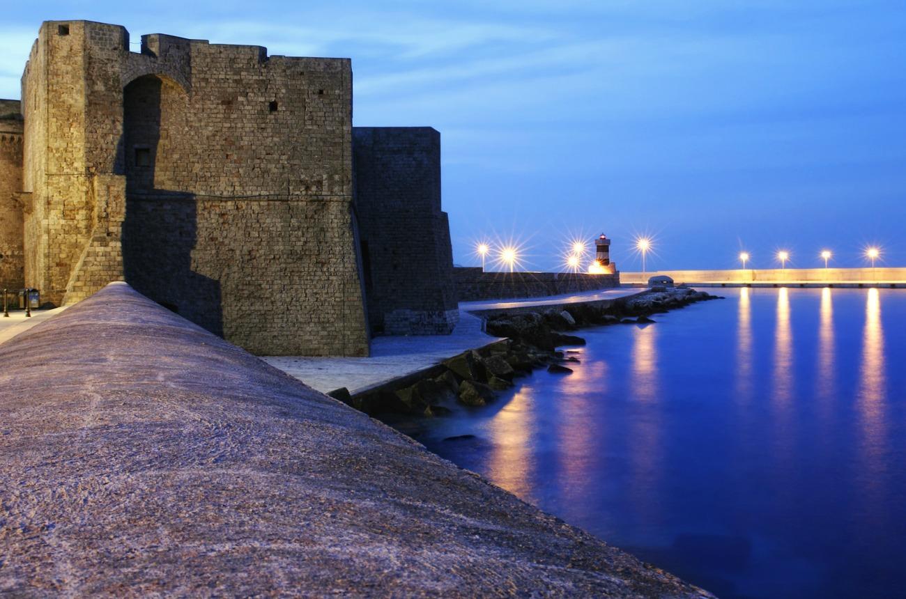 Castle of Monopoli, Apulia, Italy