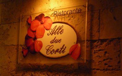 Alle Due Corti Restaurant