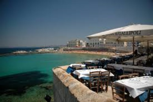 Gallipoli restaurant- Italian food with great views